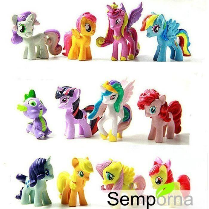 Kids Anime My Cute Lovely Little Horse Poni Action Figures Toys Dolls for Children Girl Birthday Christmas Gif