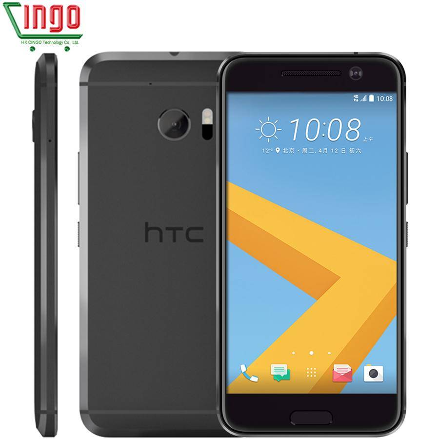 HTC 10 M10 RAM 4GB ROM 32GB Quad Core 3000mAh 5.2 inch 12MP Camera NFC Nano SIM Rapid Charger 3.0 4G LTE Cellphone