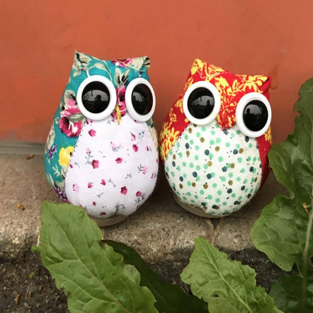 Christmas Creative Cloth Cute Cartoon Owl Xmas Tree Hanging Decorations Gift For Children Home Decor Accessories kerstballen