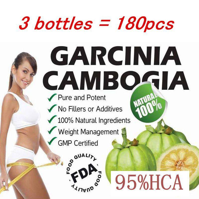 3 PACKS Pure garcinia cambogia extract 95% HCA slimming products loss weight diet product for women Quick weight loss