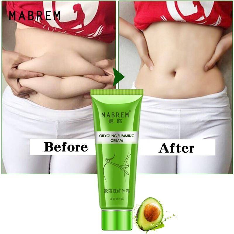 Plants Cellulite Slimming Cream Belly Fat Soothes Leg Relaxed Adipose Massage Slim Fast Tightens Skin Fat Burn Slim Cream 40g